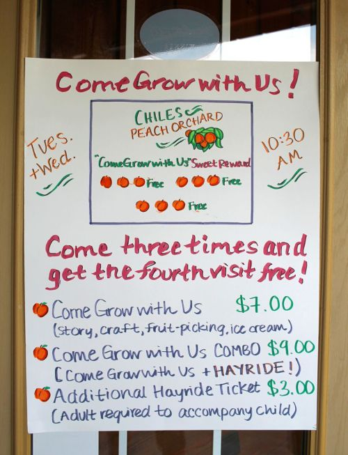 Chiles Come Grow With Us Info